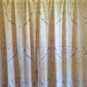 Anthro shower curtain beach